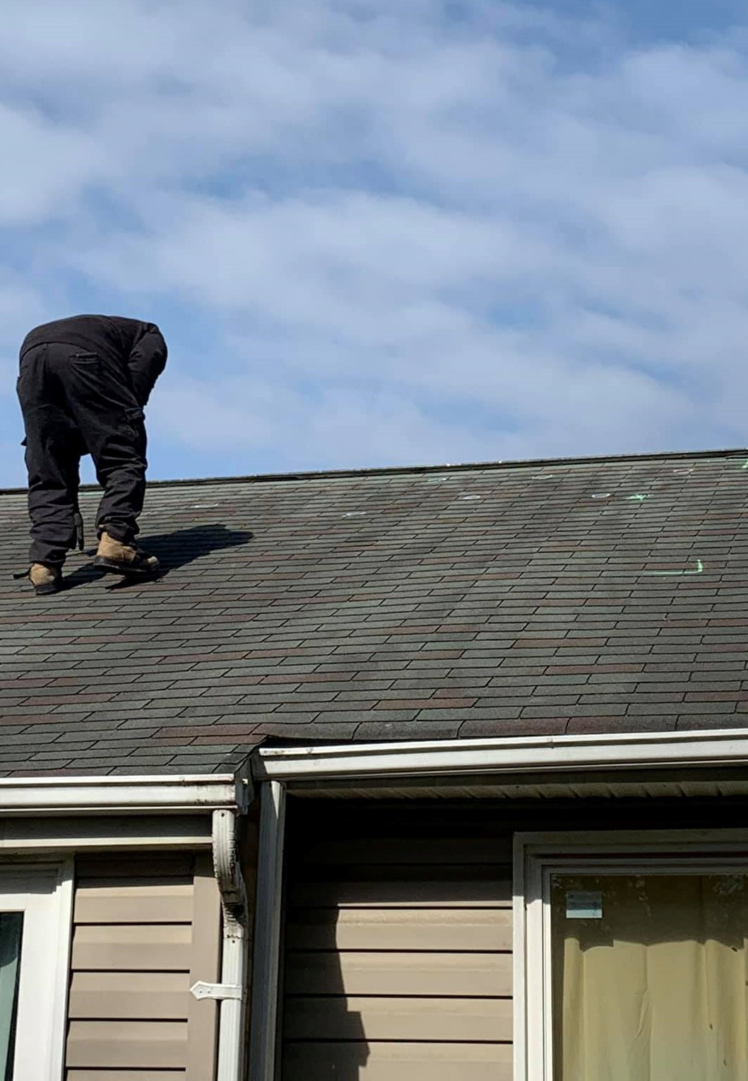Hail Damage Roof Inspection by Chateau Public Adjusters in Frederick, MD