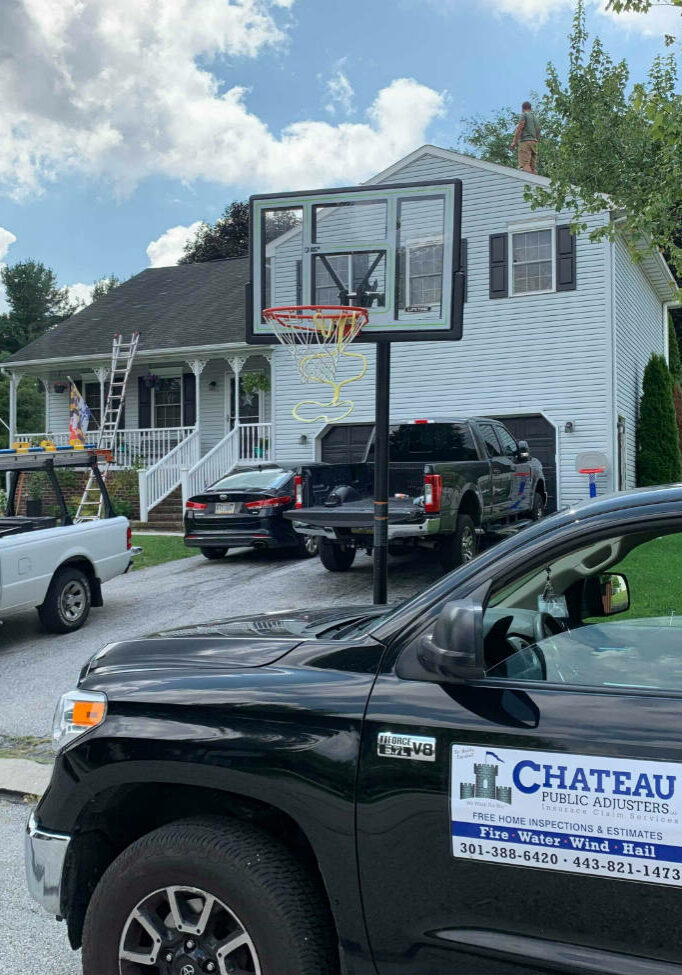 Chateau Public Adjusters offers free roof inspections in Hanover PA for roof damage claims as part of our insurance assistance services