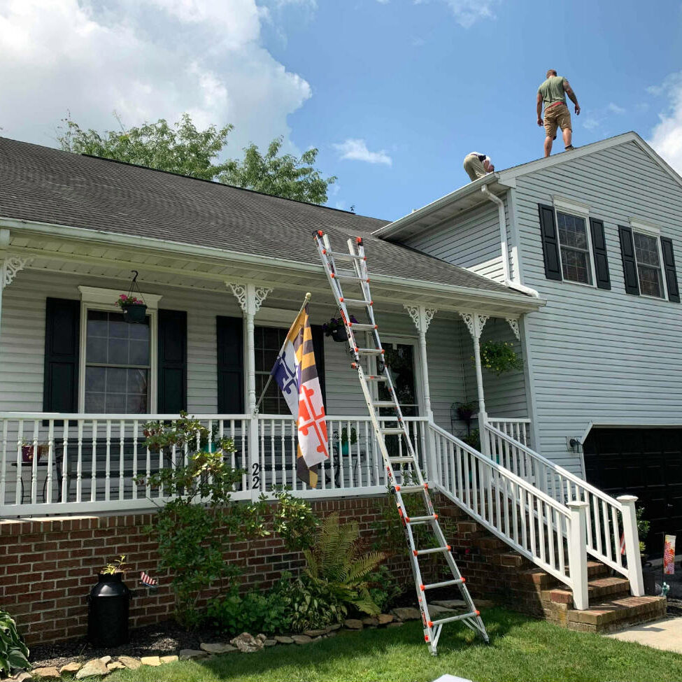 Free Roof Inspection by Chateau Public Adjusters for a roof damage claim in Hanover PA 17331