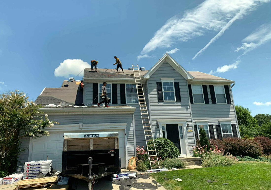 Roof Damage in Manchester MD we got approved for a full roof replacement, executed by Superior Services of PA & MD