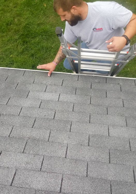 Roof Inspection by our preferred roofer JWE Remodeling and Roofing contractors in Hanover PA 17331