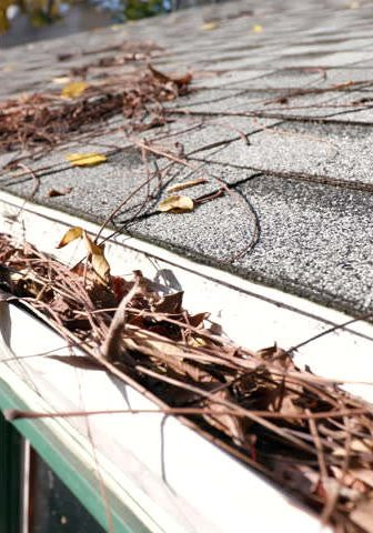 Clean your gutters to prevent storm damage and water leaks when severe storms hit